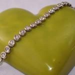Bracelet diamants 3 carats