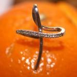Pendentif pièce unique or et diamants