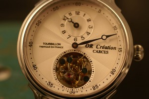 Montre-TOURBILLON-mécanique OR CREATION
