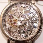 Montre squelette OR CREATION recto