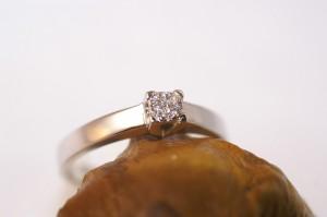 Solitaire pavage diamant